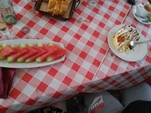 sandía versus tarta RETO ALBALÁ