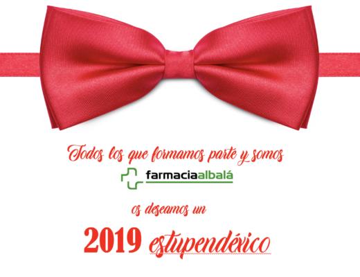 2019 feliz año farmacia albalá